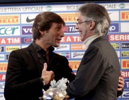 Leonardo e Moratti - Getty Images