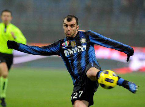 Pandev in azione ai tempi dell'Inter