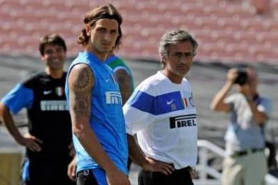 Ibrahimovic e Mourinho