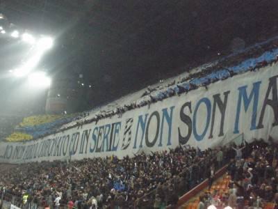 I tifosi della Curva Nord - Foto Interlive.it