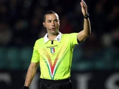 Serie A, l'arbitro Marco Guida