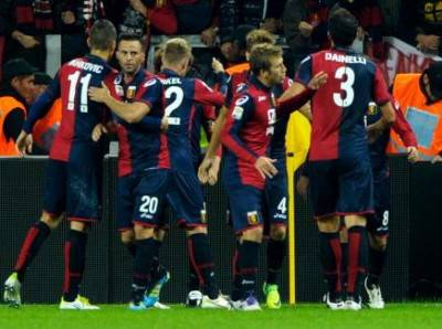 I giocatori del Genoa - Getty Images