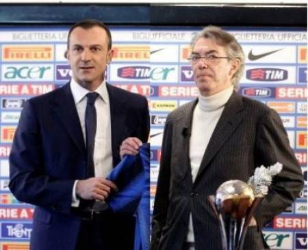 Moratti e Branca - Getty Images