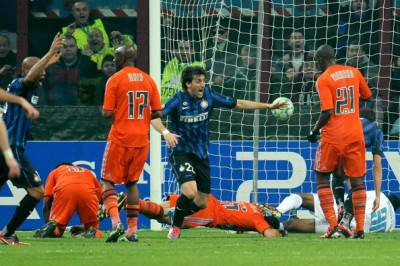 Inter-Marsiglia 2-1 - Getty Images