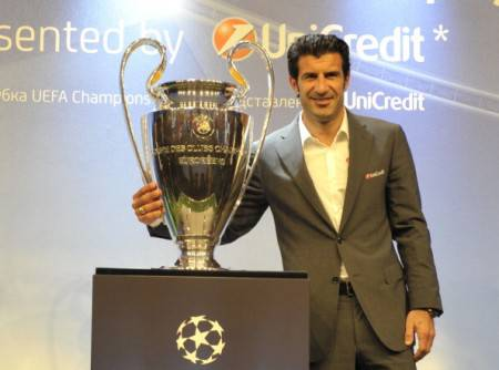 Figo, all'Inter dal 2005 al 2009
