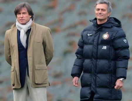 Oriali e Mourinho