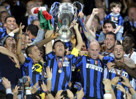 L'Inter alza la Champions League