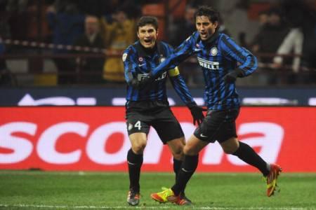 Javier Zanetti e Diego Milito