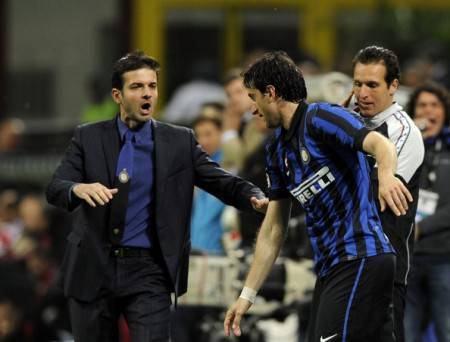 Stramaccioni e Milito - Getty Images