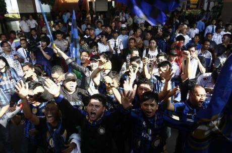 I tifosi dell'Inter indonesiani - Foto 'Inter Club Indonesia'