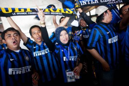 Tifosi indonesiani 'pazzi' dell'Inter (Getty Images)