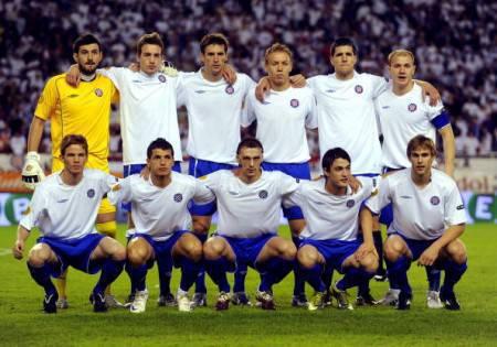 I giocatori dell'Hajduk Spalato - Getty Images