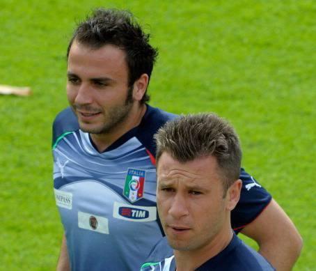 Antonio Cassano e Giampaolo Pazzini (Getty Images)