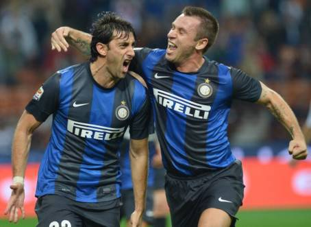 Milito e Cassano - Getty Images