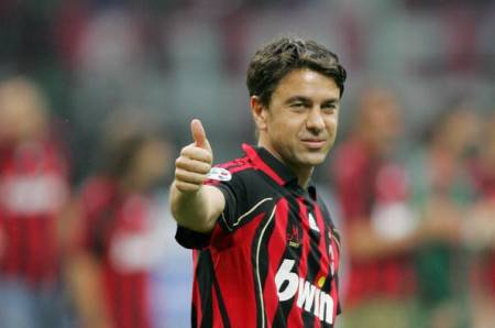 Costacurta ai tempi del Milan / Getty Images