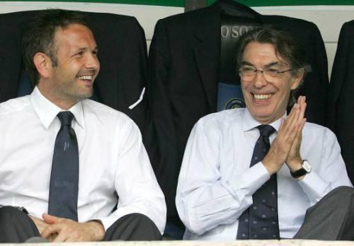 Mihajlovic e Moratti (Getty Images)