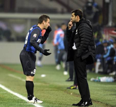 Cassano e Stramaccioni (Getty Images)