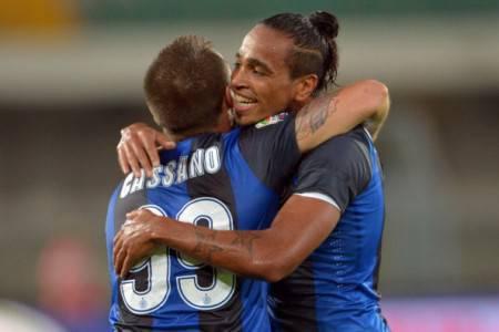 Cassano e Pereira (Getty Images)