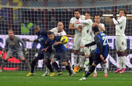 Il gol di Chivu - Getty Images
