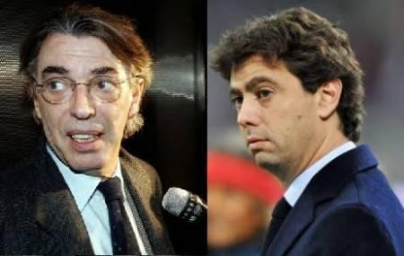 Moratti e Agnelli (Getty Images)