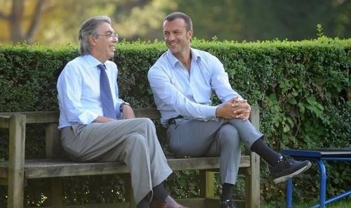Massimo Moratti e Marco Branca (Inter.it)
