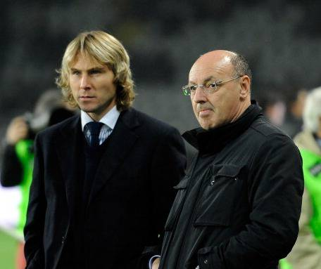 Nedved e Marotta (Getty Images)