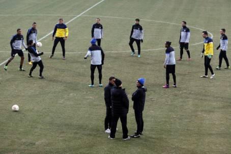 Allenamenti Inter