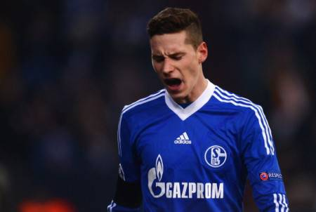 Draxler ai tempi dello Schalke 04 (Getty Images)