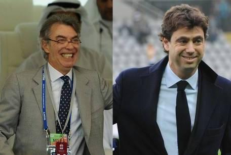 Massimo Moratti e Andrea Agnelli ('tuttosport')