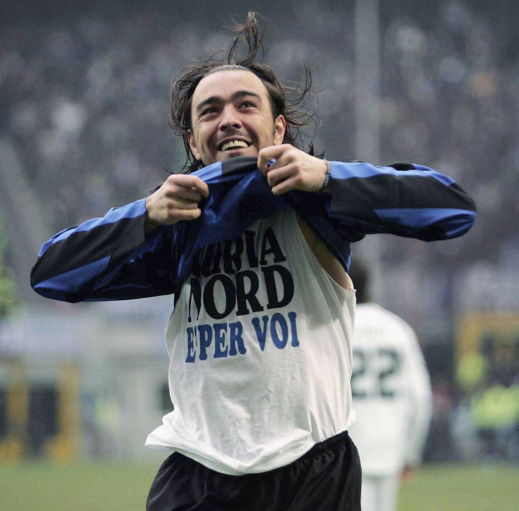 Alvaro Recoba con la maglia dell'Inter - Getty Images