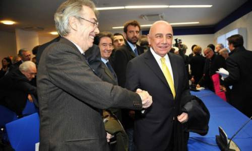 Moratti e Galliani (Getty Images)