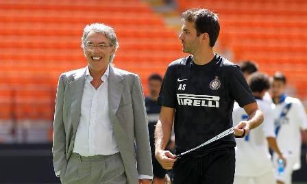 Moratti e Stramaccioni (Getty Images)