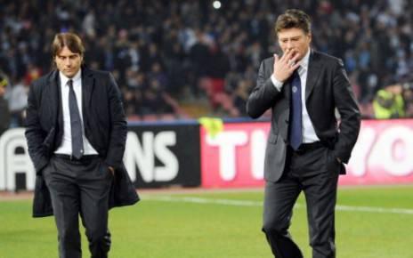 Mazzarri e Conte (Getty Images)