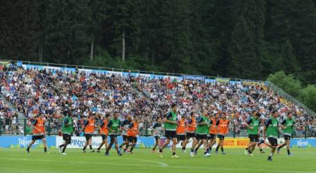 Inter in ritiro a Pinzolo - Getty Images