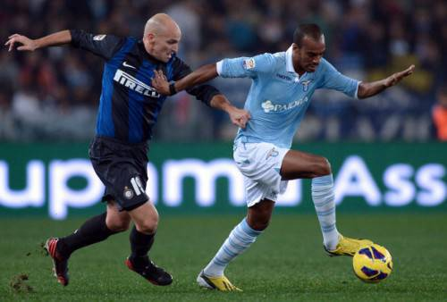 Cambiasso e Konko - Getty Images