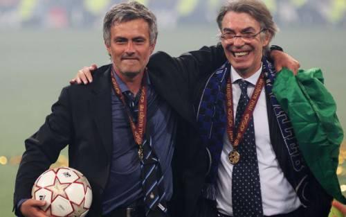 José Mourinho e Moratti (Getty Images)
