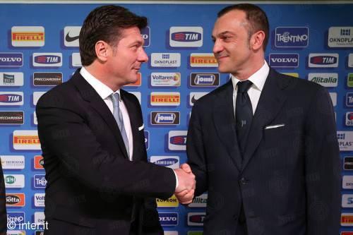 Mazzarri e Branca (Inter.it)