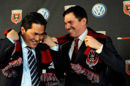 Thohir e il suo socio Levien (Getty Images)