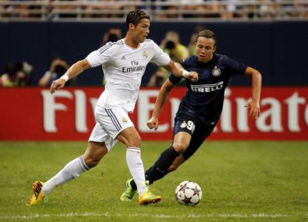 Olsen sfida Cristiano Ronaldo (Getty Images)