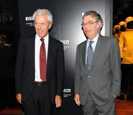 Tronchetti Provera e Moratti