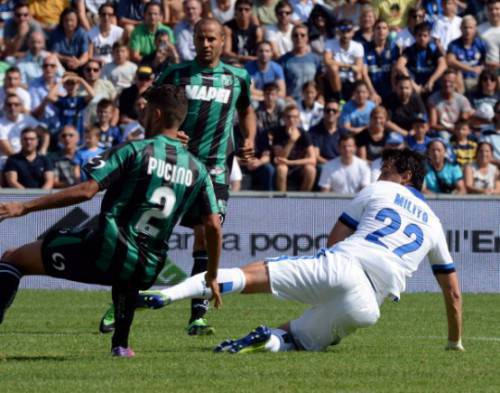 Diego Milito in gol (Getty Images)