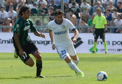 Diego Milito in azione (Getty Images)