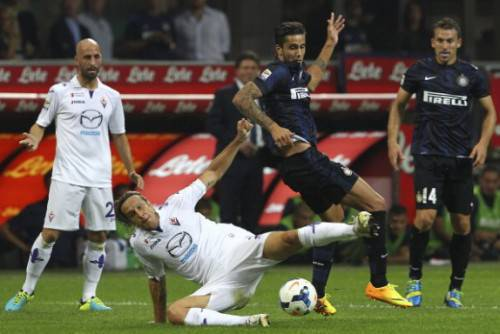 Inter-Fiorentina 2-1 (Getty Images)