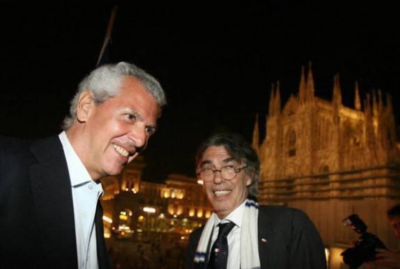 Tronchetti Provera e Moratti (Getty Images)
