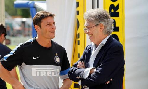 Zanetti e Moratti (Inter.it)