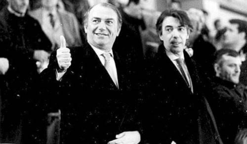 Pellegrini e Moratti nel 1995