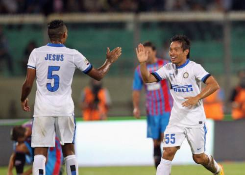 Juan Jesus e Nagatomo (Getty Images)