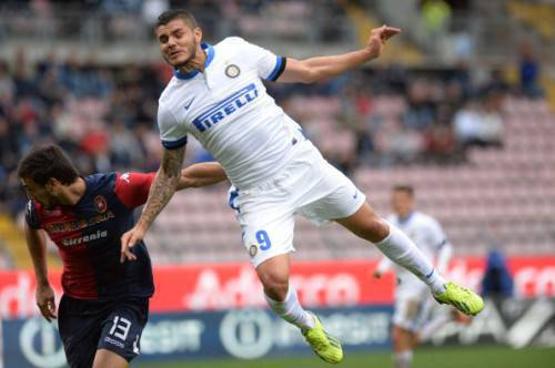 Icardi in azione (Getty Images)