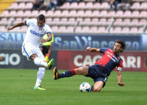 Fredy Guarin in azione (Getty Images