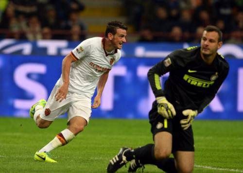 Florenzi batte Handanovic (Getty Images)